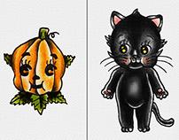 Halloween Kewpies 🎃🎃🎃
