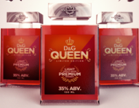 "D&G ""Queen""- Premium Light Whiskey"