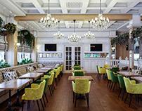 Проект 14. Визуализация ресторана.
