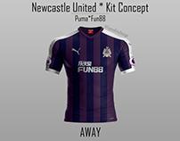 Newcastle United Kit Concept
