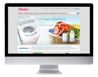 Haier America Web Site
