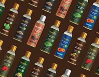 Herbliss Hair Oil Branding