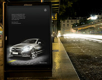 Mercedes CLS Print Advertising