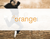 Orange re-brand
