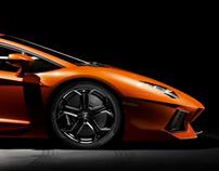 Lamborghini Home Page Concept