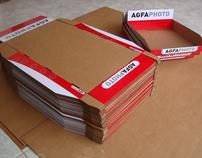 AGFAPHOTO displays in corrugated cardboard