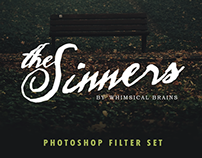 The Sinners - Photoshop Filter Set