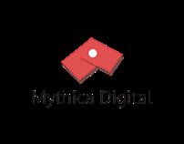 Mythica logo - material Design