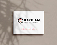 Logo, Identity & Guide - Guardian Network Security