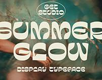 Summer Glow - Display Typeface