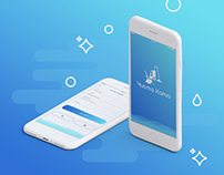 Mobile application for clean service