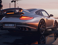 Porsche 911 GT2RS CG Visualisation
