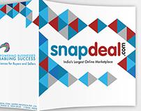 Brochure Design - Snapdeal.com