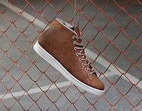 Adidas Originals: Stan Smith Mid shoe retouching