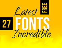 27 Latest Free Fonts Perfect for Incredible Design Proj