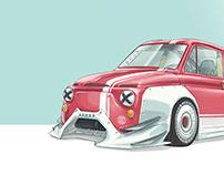 Fiat 500 Spedup