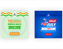 Independence Day Social Media