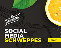 Social Media - Schweppes Portugal