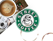 'Street Coffee' Cafe Website Concept