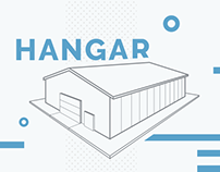 Hangar building  - corporate site