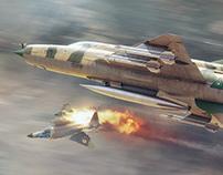 Mig21 vs Phantom II