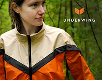 Underwing Hiking Jacket and Brand