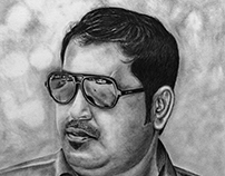 Pencil drawing-Shamsudheen Nellara