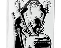 Evil Queen Snow White - hand cut paper
