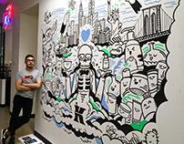 Kiehl's NYC Mural