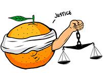 Orange j