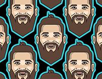 2019 NHL All-Star Player Emojis