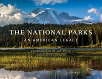 The National Parks: Photography Book Design/Layout