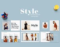 [Free Presentation] Style - Presentation Template