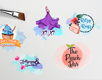 WaterColor Logos