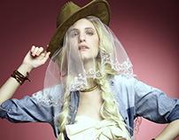 Cowboy bride - Editorial