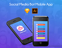 OVERCLOCK Social Media Bot Mobile App