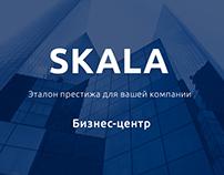 Adaptiv web site SKALA - business center