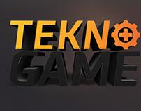 TeknoGame Logo Design