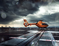 Helicopter Retouch