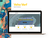 Painting Company Website Redesign