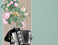 The sound of spring | Digital Collage