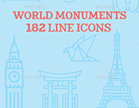 World Monuments Icons
