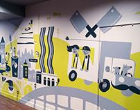 Bruncheonette Mural