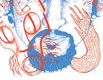 The Sleep Deprived Illustrator's Mind - A Tote Bag