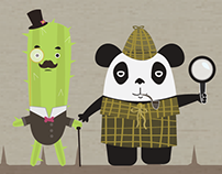 The Adventures of Panda and Cactus