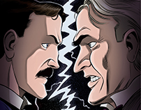 """""""Herald: Lovecraft & Tesla"""" #8 comic preview pages"""