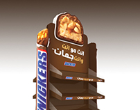 SNICKERS Stand