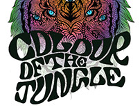 Colour of the Jungle Logo Design
