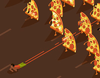 Meatlovers Pizza - Animated Gif