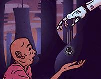 Artificial Intelligence Social Awareness Poster